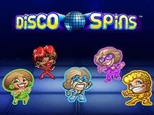 Disco Spins в Вулкане удачи на деньги